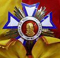 Order of Miguel Larreynaga grand cross star (Nicaragua) - Tallinn Museum of Orders.jpg