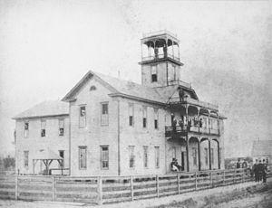 Texas A&M University–Commerce - Original ETNC campus in Cooper in 1890