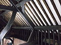 Original timber roof in St Michael's Church, Chester (11).JPG