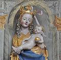 Orsenhausen Pfarrkirche Seitenaltar links Madonna detail.jpg