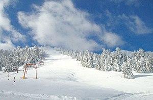 Mainalo - Ostrakina skiing slope