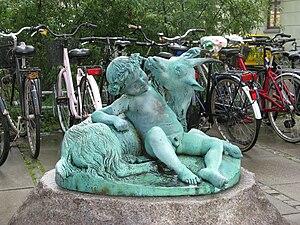 Otto Evens - Image: Otto Evens Dreng med ged Copenhagen