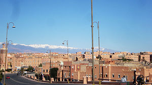 Ouarzazate - Image: Ouarzazate city, Morocco