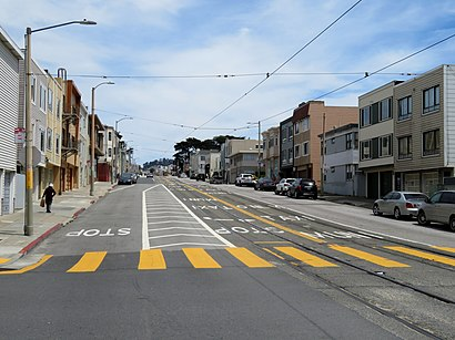 How to get to Taraval & 40th Ave with public transit - About the place