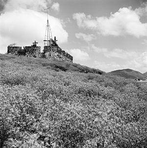 Fort Amsterdam (Sint Maarten) - The fort in 1966