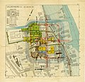 Overzichtskaart opgravingen castellum ValkenburgZH 1941-43 46-50 kl coll RMO.jpg