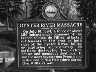 Raid on Oyster River - Raid on Oyster River