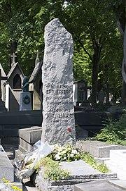 Père-Lachaise - Division 86 - tombe Apollinaire 01