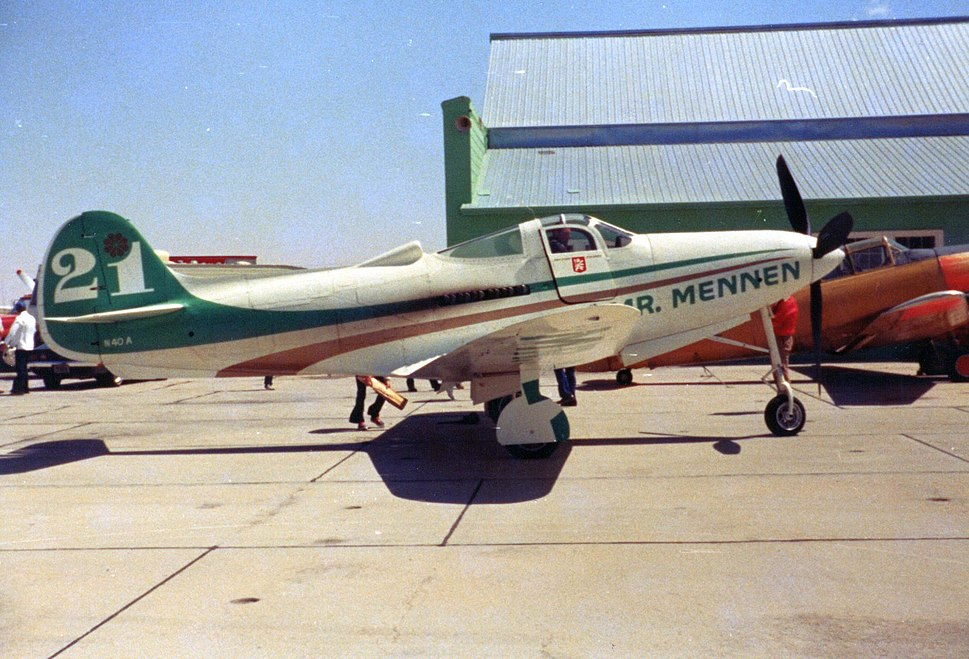 P-39 Airacobra racer