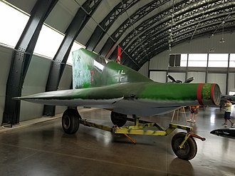 Lippisch P.13a - Replica in the Military Aviation Museum collection.