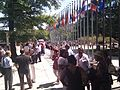 PAHO's brave staff evacuated after earthquake.jpg