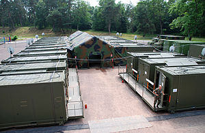 Headquarters Rapid Reaction Corps – France - Commanding post shelters