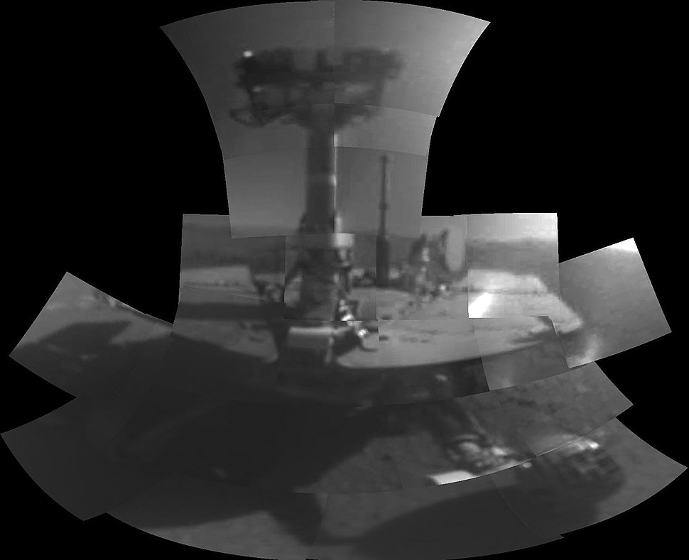 PIA22222-Mars-OpportunityRover-FirstSelfie-20180220