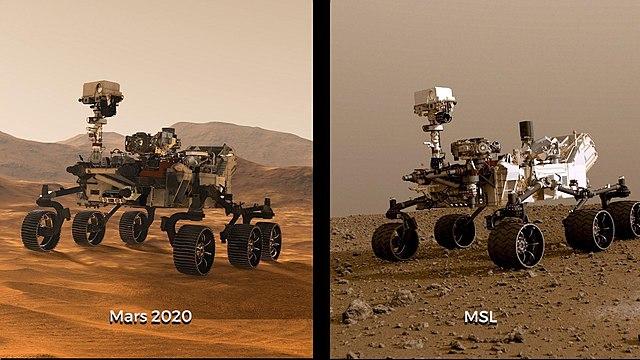 Perbandingan rover