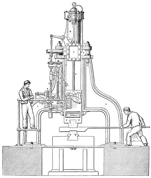 PSM V38 D349 The nasmyth steam hammer.jpg