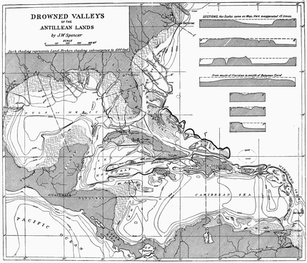 PSM V53 D030 Drowned valleys of the antillean lands.png