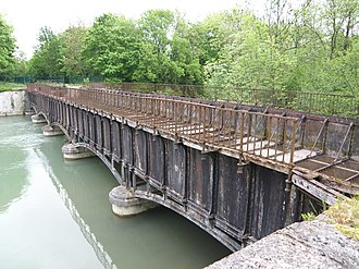 Barberey-Saint-Sulpice - The Canal Bridge
