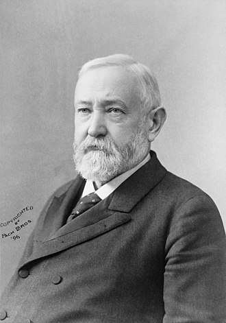 1888 United States presidential election in North Carolina - Image: Pach Brothers Benjamin Harrison