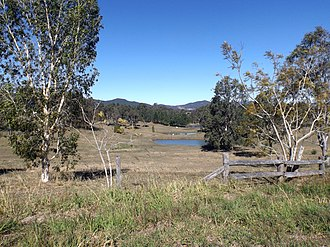 Sandy Creek, Queensland - Paddocks along Sandy Creek Road, 2015