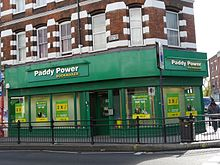 Paddy Power Telephone Betting