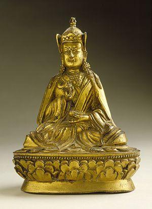 """Bhutanese art - Padmasambhava or """"Guru Rinpoche"""", 8th century"""