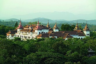 Thiruvananthapuram - Kowdiar Palace built in 1915 was the official residence of the Travancore Royal Family.