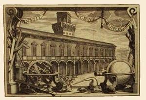 Palazzo Poggi - View of the palace c. 1750
