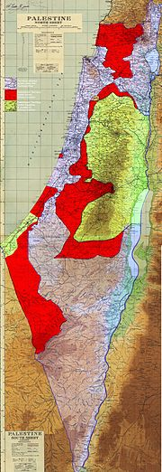 Palestinian territories under military control of Israel Egypt and Jordan 1949