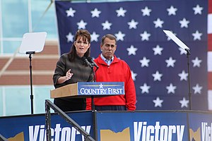 October 17, 2008 Sarah Palin Rally in West Che...