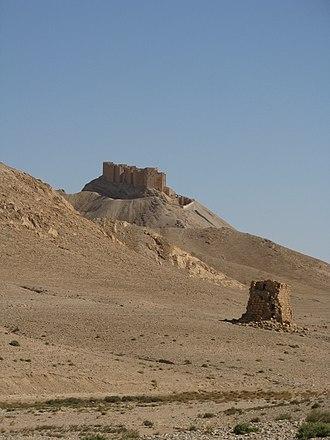 Palmyra offensive (March 2016) - Palmyra Castle.