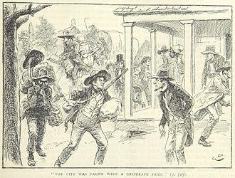 Morgan's Raid - Panic in Louisville as Morgan's troops approach