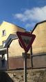 Panneau AB3a ancien à la Rue de la Ratille, Craponne-sur-Arzon (43).png