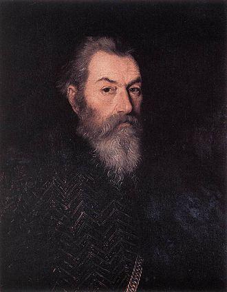 Paolo Farinati - Portrait of a Man.