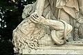 Parc de Versailles, demi-lune du bassin de Neptune, La Renommée du Roi, Domenico Guidi 04.jpg