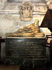 monument funéraire de Jacques Douglas, prince d'Ecosse