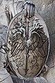 Paris - Les Invalides - Façade nord - Statue de Mars - 003.jpg