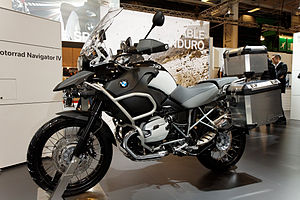 Paris - Salon de la moto 2011 - BMW - R 1200 GS Adventure - 001