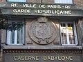Paris 7e - rue de Babylone - Garde républicaine.JPG