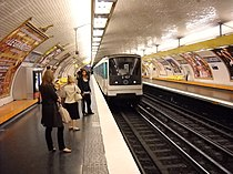 Paris metro - Billancourt - 4.JPG
