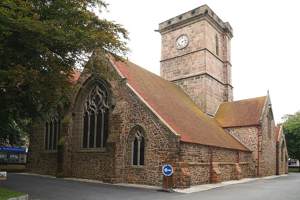 Parish Church of St Helier Pfarrkirche der Inselhauptstadt - Island of Jersey Kanalinseln United Kingdom Foto 2017 Wolfgang Pehlemann DSC05074