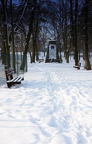 Warta, Poland - Image: Park in Warta 6