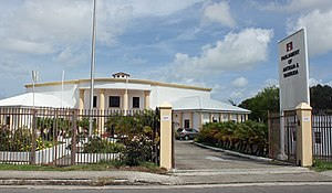 Parliament of Antigua and Barbuda - The parliament building in St. John's.