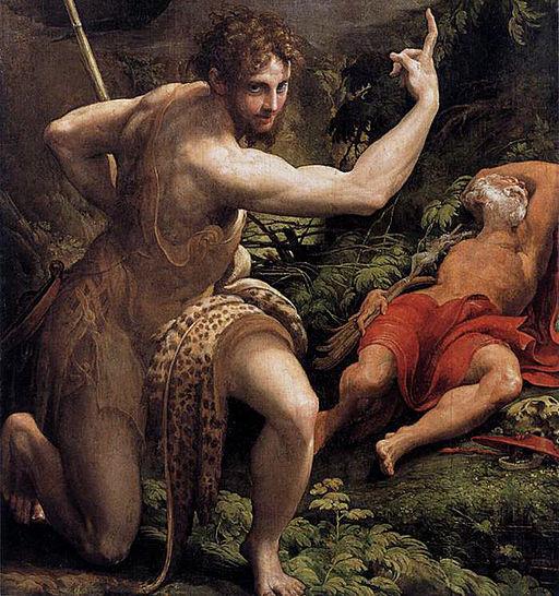 Parmigianino - The Vision of St Jerome - WGA17044-2