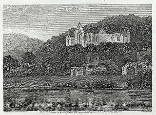 Part of Tintern Abbey