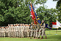 Passing the cutlass, senior enlisted sailor passes the sword in a change of charge ceremony 130618-M-IU187-176.jpg