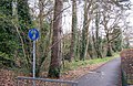 Path from Highlands Rd to Miller Drive-Fareham - geograph.org.uk - 734678.jpg