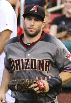 Paul Goldschmidt - Goldschmidt with the Diamondbacks, 2017.
