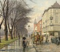 Paul Gustave Fischer (1860-1934) - Jagtvej Looking towards Vibenhus Runddel.jpg