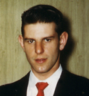 Paul John Schwendel I (1941-1996) at 268 Gorden Drive in Paramus, New Jersey for Christmas, 1960.png