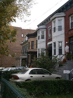 Hilltop, Jersey City - Magnolia Avenue at Baldwin